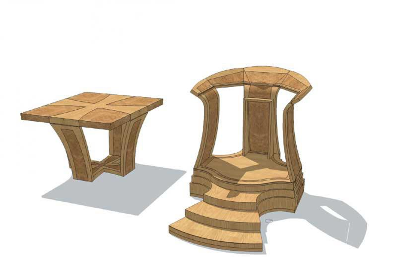 Wakefield Cathedral Chooses Dovetailors to Create new Altar for Project 2013