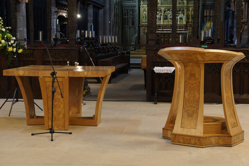 Designing Furniture for churches and buildings of architectural significance