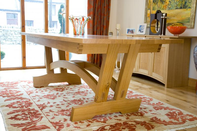 Dining table by Andrew Lawton