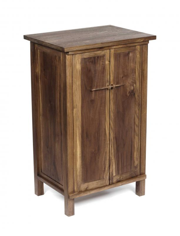 Cabinet in Walnut by Anna Childs and John Thatcher