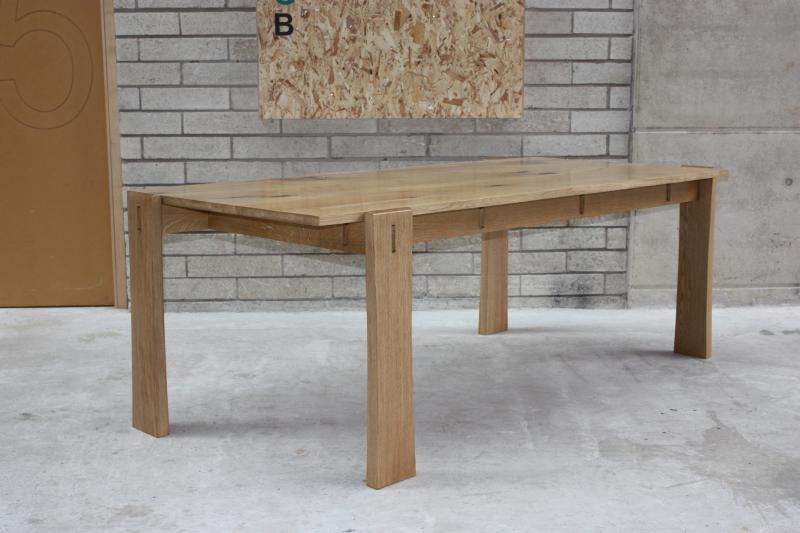 Dining Table in Native Oak by Anna Childs and John Thatcher