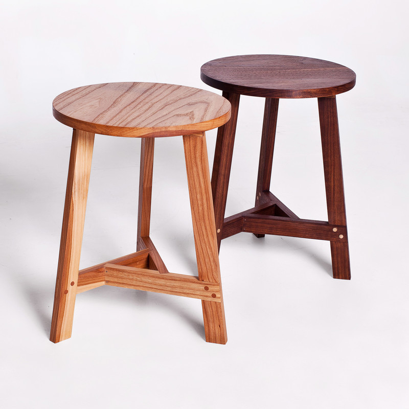 Stool-Side Table by Anna Childs and John Thatcher