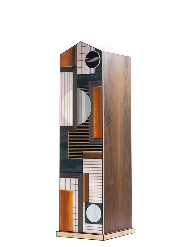 """Gables""  record cabinet. by Chris Tribe"