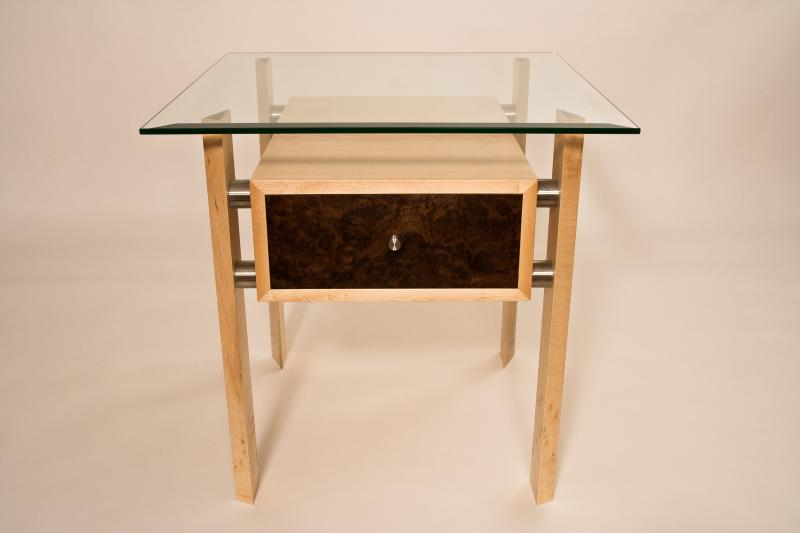 Bedside table by Design in Wood