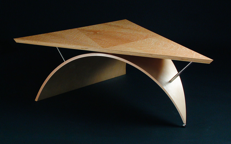 Coffee table by Design in Wood