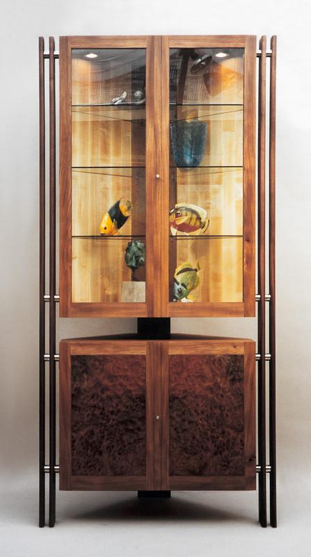 Corner cabinet by Design in Wood