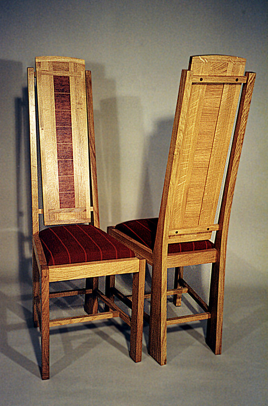 Dining chairs by Design in Wood