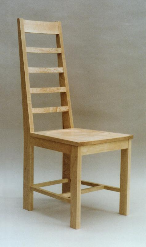 Ladderback chair by Design in Wood