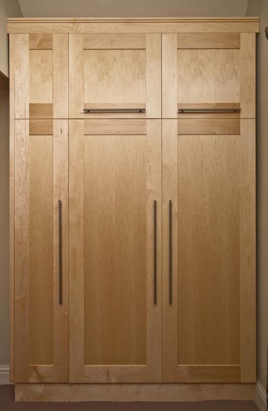 Wardrobe by Design in Wood