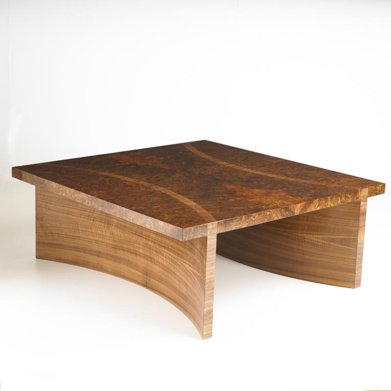 Coffee Table in walnut by Dovetailors