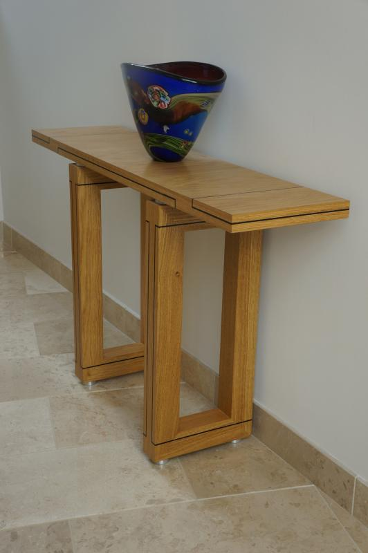 Dining Table Detail by Dovetailors
