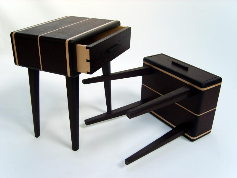 Bedside tables by James McKay