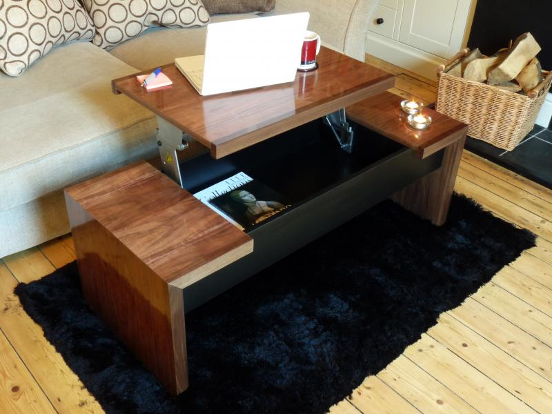 Studio Lift up Table by James McKay