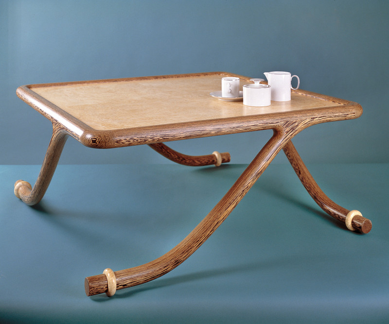 'Curtsey' Low Table by Robert Ingham