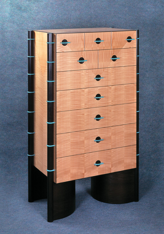 'Placet' Chest of Drawers by Robert Ingham