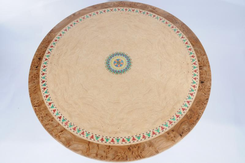 Egyptian Table Top by Sam Anderson