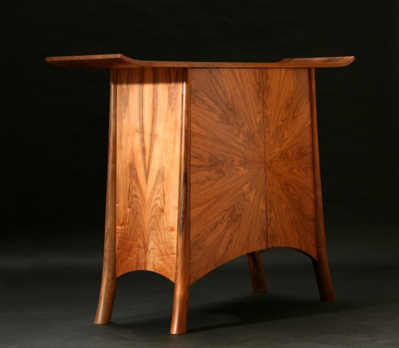 Walnut Cabinet by Tim Rinaldi