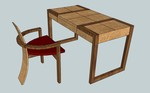 Chris Tribe Furniture to unveil new desk and chair design at MAKERS exhibition.