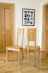 Dining chairs by Andrew Lawton