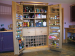 KItchen larder unit by Chris Tribe