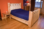 Bed by Design in Wood