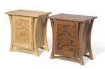 Bedside tables by Gabler Furniture