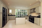 Bespoke painted kitchen by Gabler Furniture