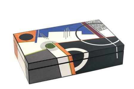 Marquetry box - Jazz by Christine Meyer-Eaglestone