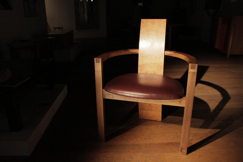 Cube chair by Chris Tribe