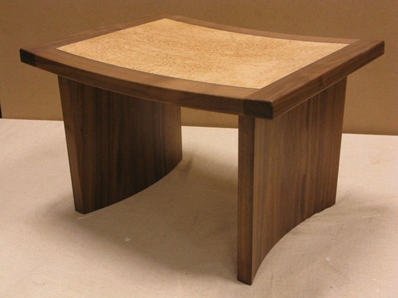Curved Stool by Chris Tribe