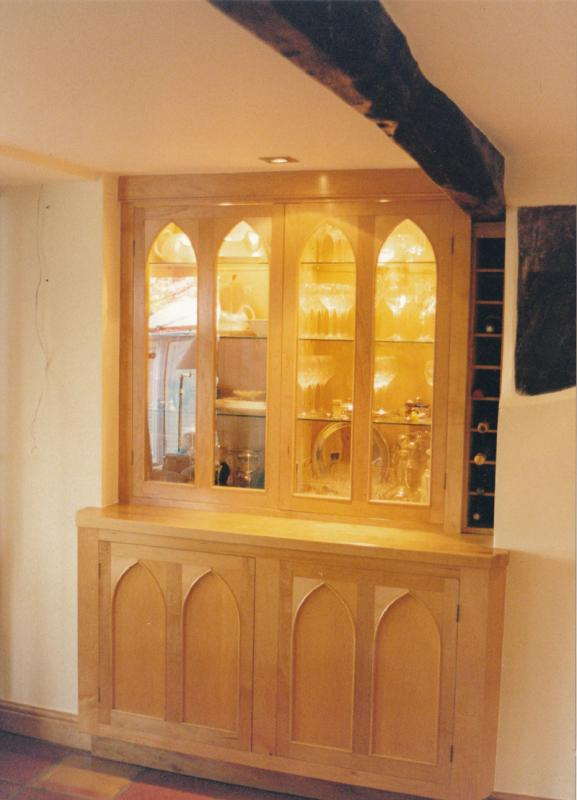 Gothic kitchen by Chris Tribe