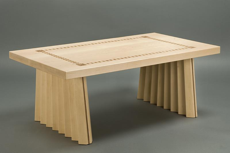 Origami coffee table by Chris Tribe
