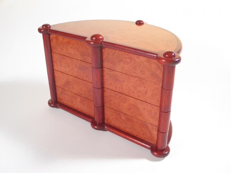 Turning drawers by Chris Tribe