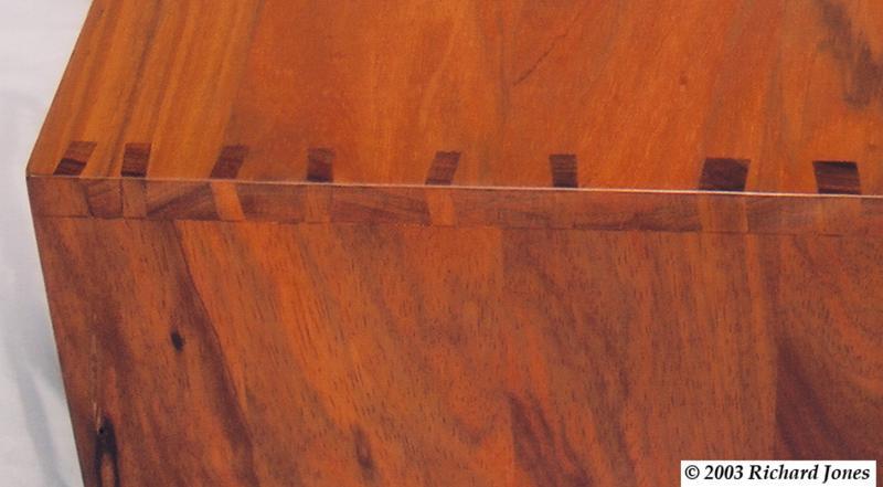 Coffee Table- corner detail by Richard Jones