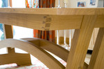 Dining table detail by Andrew Lawton