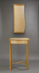 Curve cabinet and table by Chris Tribe