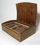 Curve top jewellery box interior by Chris Tribe