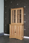 Oak display cabinet by Chris Tribe