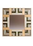 Marquetry mirror - Formal Garden by Christine Meyer-Eaglestone