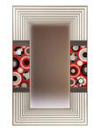Marquetry mirror by Christine Meyer-Eaglestone