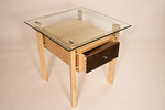 Bedside table - dovetailed drawer by Design in Wood