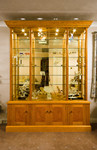 Display cabinet by Design in Wood