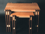 Nest of tables by Design in Wood