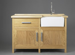 Kitchen sink unit by Dovetailors