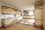 Kitchen in wood by Dovetailors