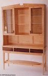 Maple and Rosewood Dresser by Richard Jones